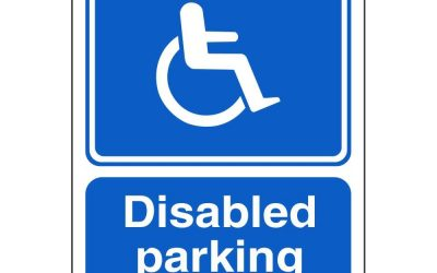 Disabled Parking Card – By David